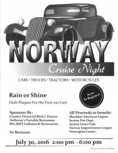 Norway Cruise Night @ Norway Store | Sheridan | Illinois | United States