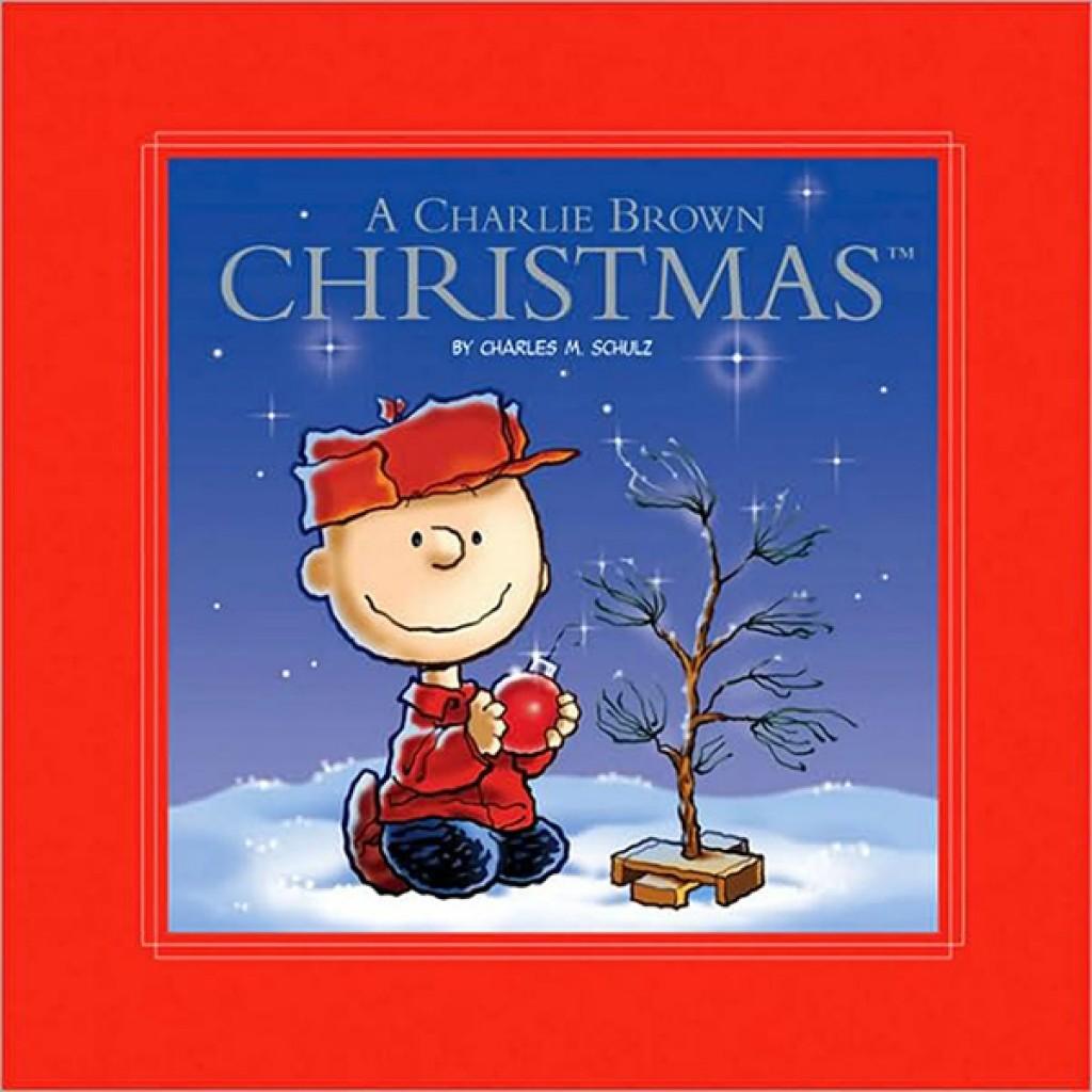 a charlie brown christmas kit book and tree kit
